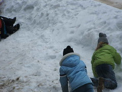 The snow is so inviting. (spy kids at lwc) Tags: slopes winterretreat campcourtney