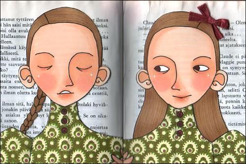 Bookbinder's Daughters - closeup