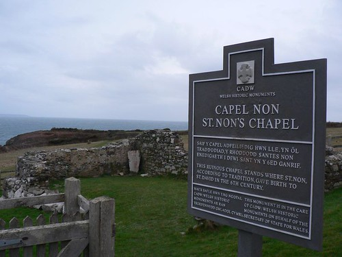st nons chapel sign by Sacred Destinations.