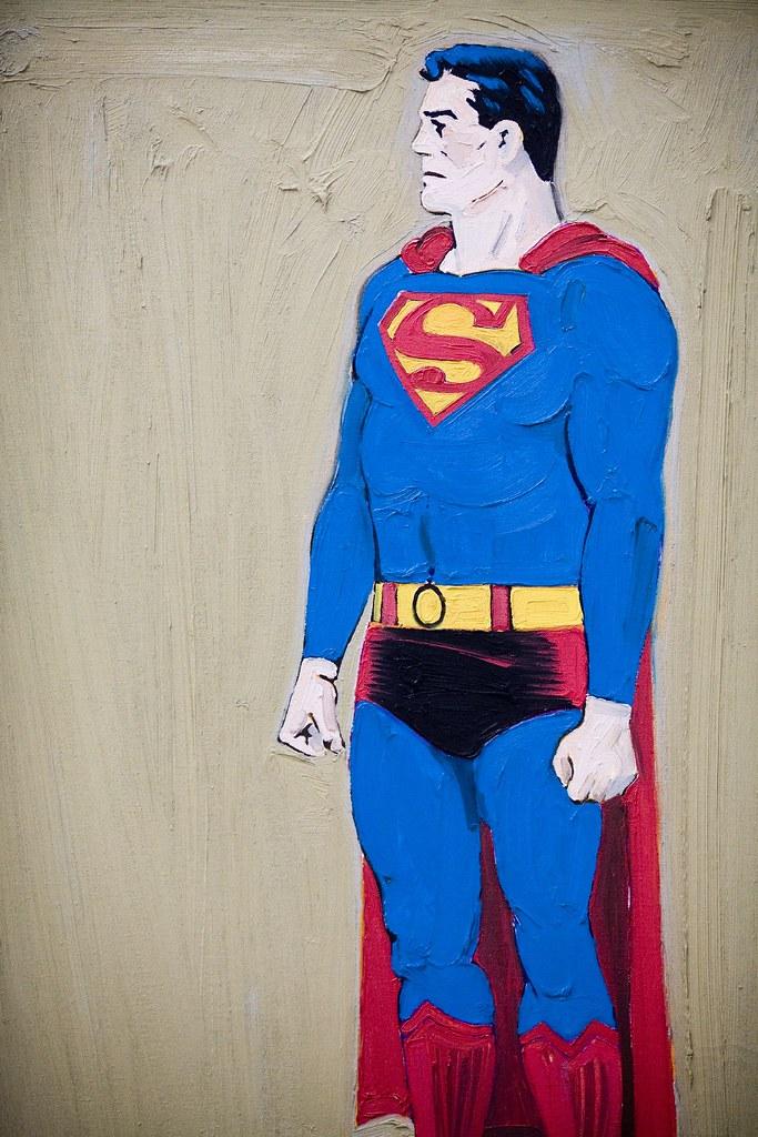 Mel Ramos' Superman