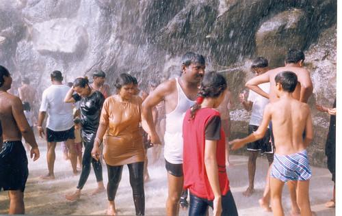 Desi girls water park