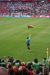 Ghana wins! (asthmatic) Tags: football fussball czech soccer cologne kln tschechien ghana match worldcup stadion wm2006 mngersdorferstadion czechvsghana