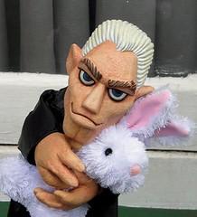 Spike and his 'friend'. (Silverspike) Tags: angel puppet spike buffy impressedbeauty