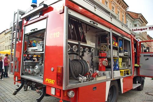 1994 Löschgruppenfahrzeug (LF 16-12) Mercedes Benz 1124 AF - 177 Freiwillige Feuerwehr Meinigen