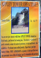 appley-tower-050818 (rabinal) Tags: appley tower sign isle wight ryde