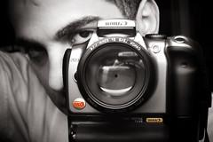 My Mirrored Shutter (Ali Brohi) Tags: selfportrait reflection canon rebel mirror lifeislike seedingchaos moazzambrohicom httpwwwmoazzambrohicom wwwmoazzambrohicom