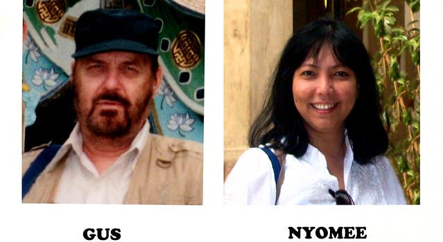 nyomee and gus