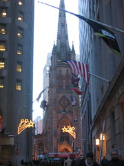Trinity Church on Wall Street