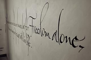 Freedom Alone