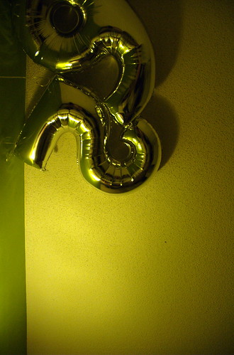 birthday balloons bed apartment naked