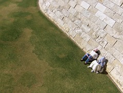 Studying? (Joe Shlabotnik) Tags: reading losangeles gettycenter myfave 2007 faved january2007 heylookatthis