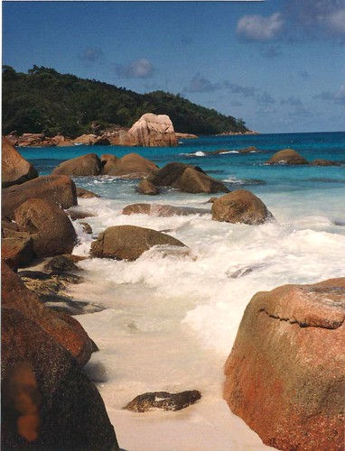 Vacation memories: La Digue, Seychelles Islands, Indian Ocean