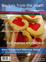 cuorhome magazine (cuorhome) Tags: flickrmagazine cover copertina cuore heart amore love menu valentine valentino biscotti cookies red rosso aphrodisiac afrodisiaco recipe ricette