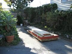 A teensy pile of lumber...