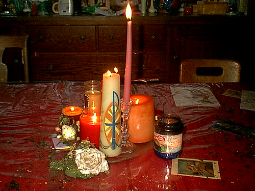 Our table for Candlemas