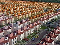 Cada torre son 2 casas, creo que hay mas de 300 en la foto!, Ixtapaluca (tomdesnaker) Tags: ixtapaluca