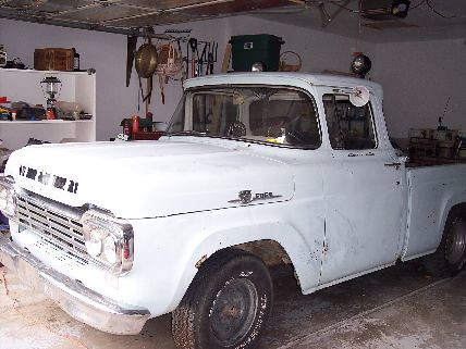 ford 1959 f100 restoration project