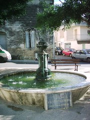 small fountain