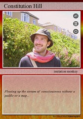 trading card (GatheringZero) Tags: chris me tradingcard flickrtoy christophe sharpy