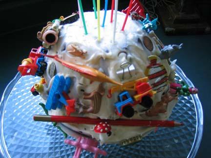 Emma's Katamari Birthday Cake