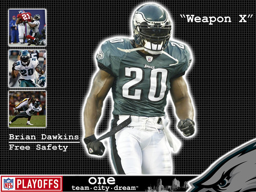 Brian Dawkins by Jason's World.