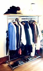 Diverse Herrenhemden und Damenblusen sowie Mntel (zipfel & frogi) Tags: liquidation birmensdorferstrasse199 hausrat clothes kleider