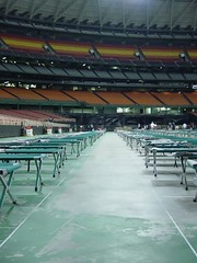 Hurricane Katrina [Awaiting our Guests] (slight clutter) Tags: katrina texas hurricane houston hurricanekatrina iloveflickr preparations cots disasterrelief astrodome slightclutter reliefefforts happyfew topv99999 katyahorner slightclutterphotography