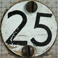 seat number 25