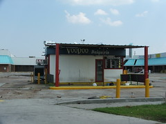 The drive through Daiquri place is okay! (G. J. Charlet III) Tags: hurricane hurricanekatrina neworleans westbank
