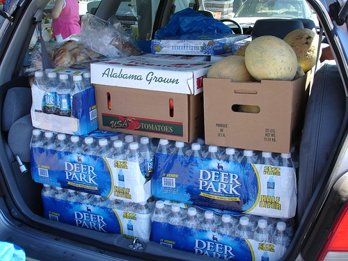 Hurricane Katrina - Bringing Supplies Trip #2