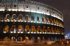 Coliseum at Night (Soyza) Tags: longexposure rome coliseum urbanlights 2for2