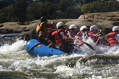 rafting on the James River, 9/8/2005