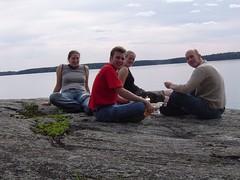 auf 'unserer' Insel (matz-o-man) Tags: hauho vonemmy finnland selbstauslser triptohauho