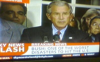 Bush: Worst disaster to hit the US
