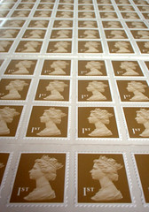 100 first-class stamps