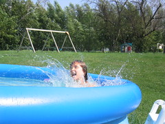 Ker-splash! (enjae) Tags: summerslasthurrah thegirls water action pool splash top20action emma agesix