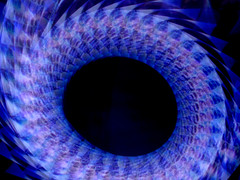 Looped TV. (_nod) Tags: toss cameratoss blue nod qatsitrilogy qatsi3 tv night longexposure nikon light colour color cameratossing tossing