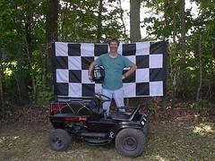 Speed Racer? (GeoffSudoku) Tags: mower racing