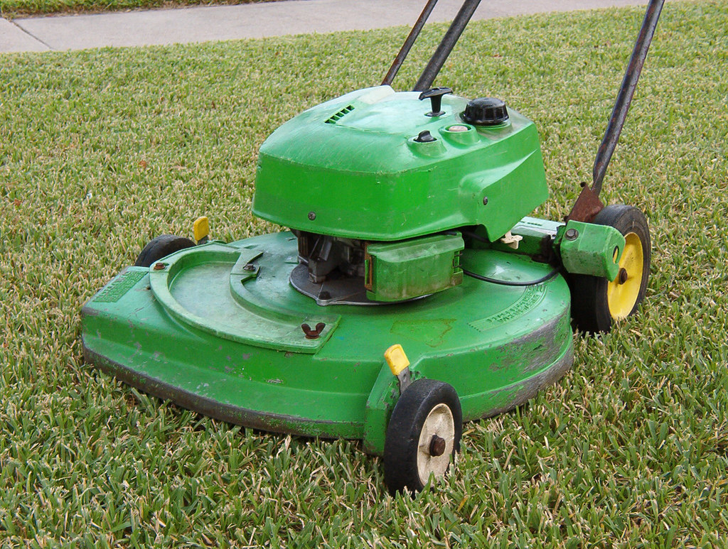 The 1978 one-pull Lawn Boy mower