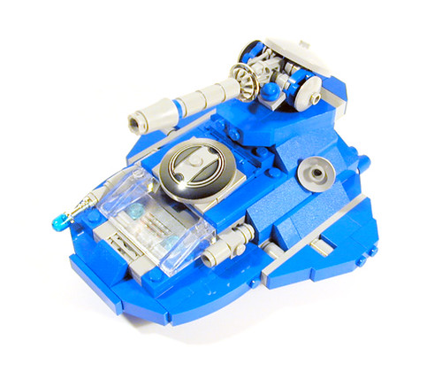 Charity Auction: PCS Hovertank (Star Rangers Edition)