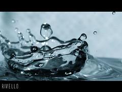 Boup! (rivello) Tags: water splash agua paz azul blue drop gotas