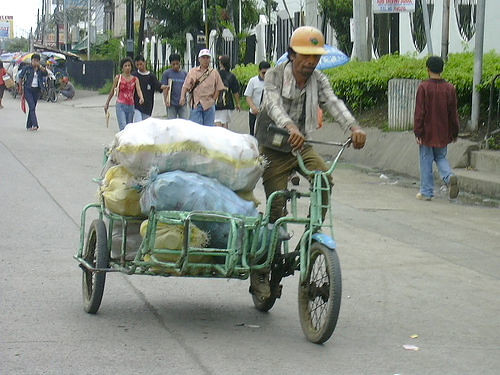 Tricycle transport junk pedal power Pinoy Filipino Pilipino Buhay  people pictures photos life Philippinen  菲律宾  菲律賓  필리핀(공화국) Philippines