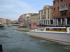 Wacky Grand Canal Races (fattybacon) Tags: venice italy vaporetto vaporetti