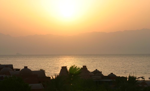 Sun Rise in Taba Heights Egypt