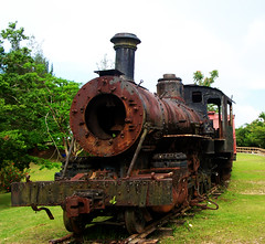 Old Train in Puerto Rico (S.D.) Tags: train puertorico camuycavepark