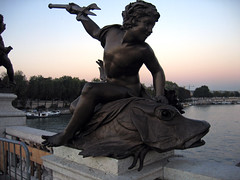 Pont Alexandre III (Veerle Pieters) Tags: paris pontalexandreiii laseine
