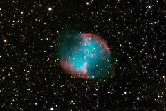 Dumbell Nebula M27, by Rob Johnson (edhiker) Tags: 20d canon astro rob pinos dumbell m27 edhiker c14 20da 14in