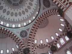 Şehzade Mehmed Camii, Istanbul, Turkey (birdfarm) Tags: turkey türkiye istanbul mosque badge ottoman İstanbul sinan ottomanarchitecture camii sehzade Şehzade