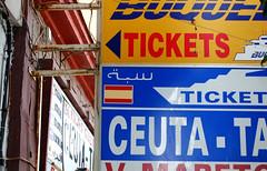 Anuncios de tikets en Ceuta