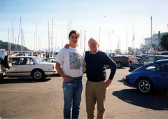 me and bill in bay (Stephen Kosloff) Tags: family santacruz me bill 1989 ucsantacruz kosloff stephenkosloff williamhouseman billhouseman